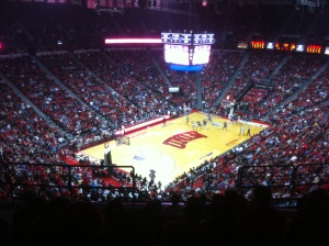 UNLV vs. TCU basketball game